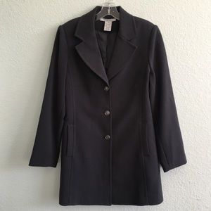CAbi #384 Charcoal Military Style Coat
